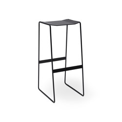 MARTINO-OR Bar stool without backrest | Tabourets de bar | Müller Möbelfabrikation