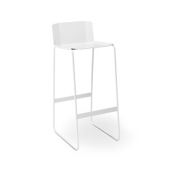 MARTINO-MR Bar stool with backrest | Tabourets de bar | Müller Möbelfabrikation