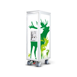 bordbar_new_deer_green | Trolleys | bordbar