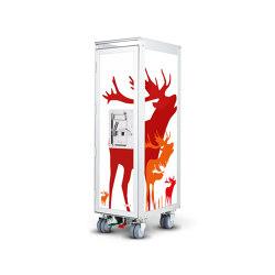 bordbar_new_deer_red | Trolleys | bordbar