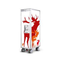 bordbar_used_deer_red   Trolleys   bordbar