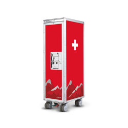 bordbar_used_swiss cross | Trolleys | bordbar