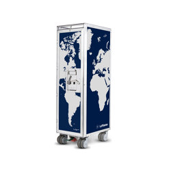 bordbar_used_Lufthansa_globe | Trolleys | bordbar