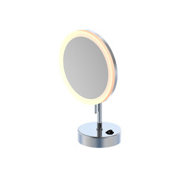 650 9300 LED cosmetic mirror with stand | Specchi da bagno | Steinberg