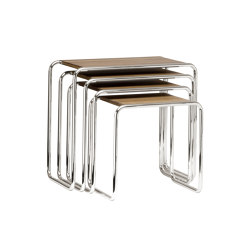 B 9 a-d | Tables gigognes | Thonet