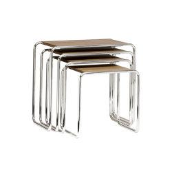 B 9 a-d | Tavolini impilabili | Gebrüder T 1819