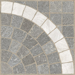 Aurelia Grigio | Arco Bianco | Panneaux céramique | Rondine