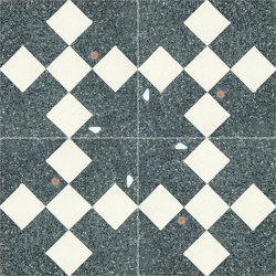 Terrazzo Flooring Pattern Squares Polygon High Quality