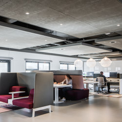 RAW clay | Acoustic ceiling systems | OWA