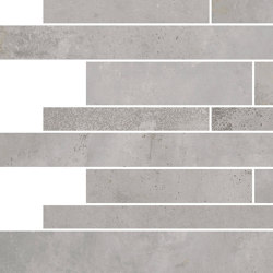 Oxyd Light Grey | Muretto | Ceramic tiles | Rondine