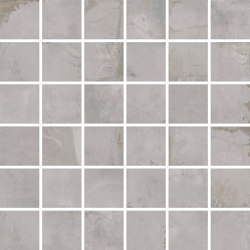 Oxyd Light Grey | Mosaico | Ceramic tiles | Rondine
