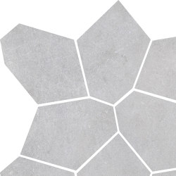 Concrete Light Grey | Mosaico | Ceramic tiles | Rondine