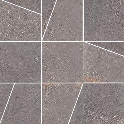 Pietra di Panama Dark | Mosaico Trapezi | Ceramic tiles | Rondine