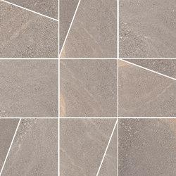 Pietra di Panama Taupe | Mosaico Trapezi | Ceramic tiles | Rondine
