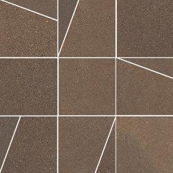Pietra di Panama Brown | Mosaico Trapezi | Keramik Fliesen | Rondine
