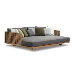 Quadrado duble daybed | Sun loungers | Minotti