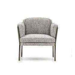 "Shelley ""lounge"" little armchair | Chairs | Minotti"