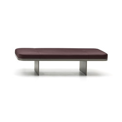 Clive bench | Benches | Minotti