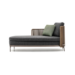 Tape Cord Outdoor paolina | Chaise longues | Minotti