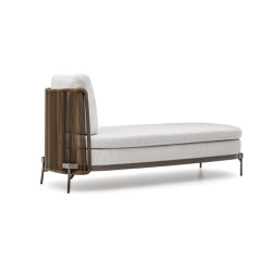 Tape Cord Outdoor daybed | Chaise longues | Minotti