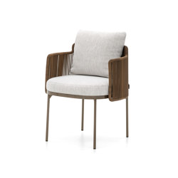 Tape Cord Outdoor little armchair | Chairs | Minotti