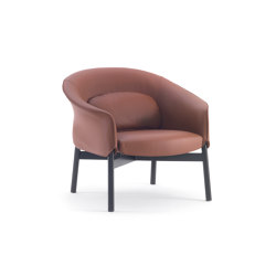 Gloria Armchair - Low Backrest Leather Version | Armchairs | ARFLEX