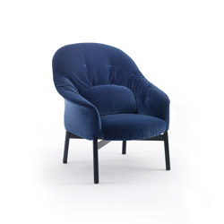 Gloria Armchair - High Backrest Version with soft quilt | Armchairs | ARFLEX