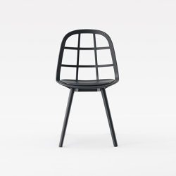 Nadia Chair Black | Sedie | Meetee