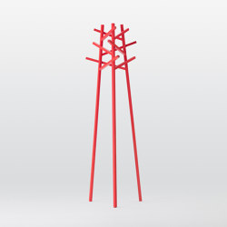Nadia Coat Stand Red | Appendiabiti | Meetee