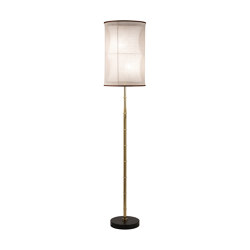 Bamboo | Bamboo stalk floor lamp | Lámparas de pie | Il Bronzetto - Brass Brothers & Co