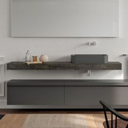 Legno Solid and Vintage Tops | Wash basins | Berloni Bagno