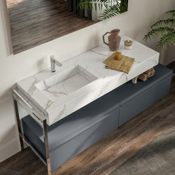 Mineralgloss and Mineralmatt Top Line | Wash basins | Berloni Bagno