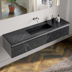 Gres and Thickness Stoneware Tops Cover | Wash basins | Berloni Bagno