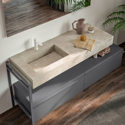 Thicker Gres Tops Cover | Wash basins | Berloni Bagno