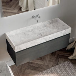 Washbasins in Astone Place | Facade systems | Berloni Bagno