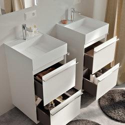Washbasins in Astone Place   Systèmes de façade   Berloni Bagno