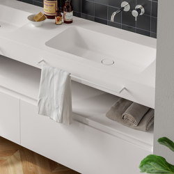 Linear Towel Holder HOLD | Towel rails | Berloni Bagno