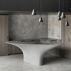Kitchen Island Concrete | Island kitchens | AMOS DESIGN