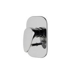 Eclipse F3919X2 | Mezclador empotrado con desviador 2 salidas | Grifería para duchas | Fima Carlo Frattini