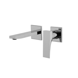 Zeta F3971X8 | Wall mounted wash basin mixer | Wash basin taps | Fima Carlo Frattini