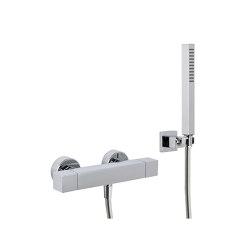 Zeta F4245   Exposed thermostatic shower mixer with shower set   Shower controls   Fima Carlo Frattini