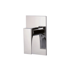 Zeta F3969X1 | Single lever bath and shower mixer for concealed installation | Shower controls | Fima Carlo Frattini