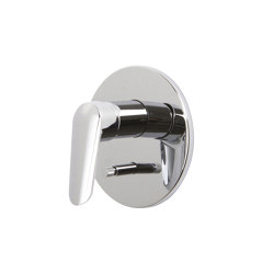 Spot F3009X2 | Single lever bath and shower mixer for concealed installation with 2 outlets diverter | Shower controls | Fima Carlo Frattini
