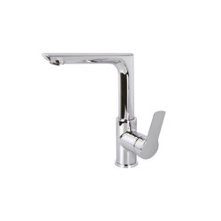 Serie 4 F3781FN | Wash basin mixer with swivel spout | Wash basin taps | Fima Carlo Frattini