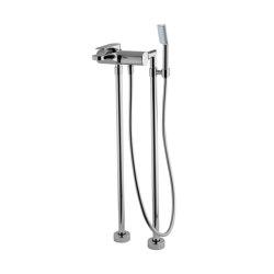 Quad F3724/4 | Floor mounted bath mixer | Bath taps | Fima Carlo Frattini