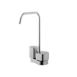 So F3171A | Mezclado de un agujero con dos mandos | Grifería para lavabos | Fima Carlo Frattini
