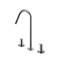 So F3191C | Batería para lavabo con caño giratorio | Grifería para lavabos | Fima Carlo Frattini