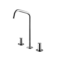 So F3191D | Batería para lavabo con caño giratorio | Grifería para lavabos | Fima Carlo Frattini