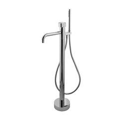 So F3184/4 | Mezclador de suelo para bañera con set de ducha | Grifería para bañeras | Fima Carlo Frattini