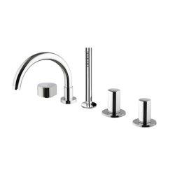 So F3174 | Batería encimera para bañera | Grifería para bañeras | Fima Carlo Frattini